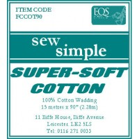 Sew Simple Super-Soft Cotton Wadding