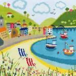 BESIDE THE SEASIDE:  DECKCHAIRS-BTBS4
