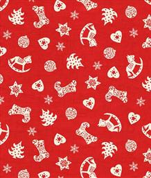 Scandi Christmas, Scatter Red
