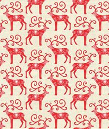Scandi Christmas, Reindeer Red