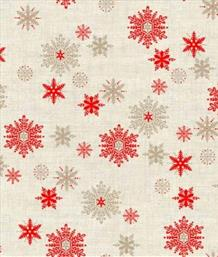 Scandi Snowflakes, Cream