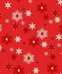 Scandi Snowflakes, Red