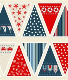 Sea View Bunting Flags