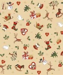 Christmas Icons Scatter, Cream