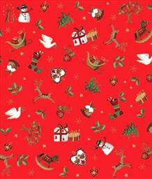 Christmas Icons Scatter, Red