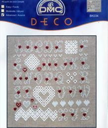 Sampler And Hardanger Hearts