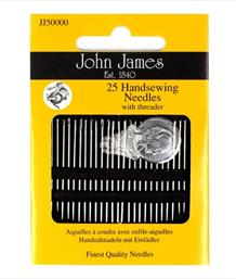 25 Hand Sewing Needles