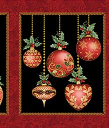 A Festive Season, Ornaments Panel