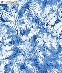 Pearl Ferns, Turquoise Blue