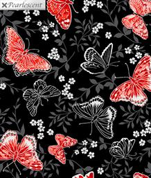Poppy Promenade, Butterfly Black