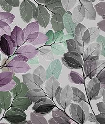 Sheer Leaves Lilac/Multi