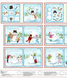 Frosty Flakes 'How to Build A Snowman' Book Panel