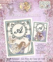 Flower Fairies™ - High Summer, The Heliotrope Fairy & The Lavender Fairy