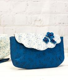 Gemini Multi Media Bag Making Metal Die - Scallop Clutch Bag and Flower Set