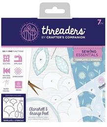 Threaders Template & Stencil - Clamshell & Orange Peel