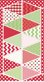 CHRISTMAS HOLIDAY BANNER - P560