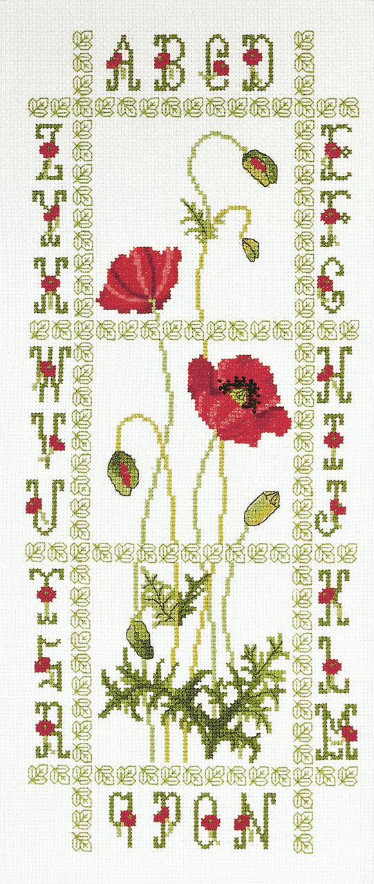 Poppies ABC - XC0851